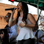 Megan Chapa performs at 205 TMA Fan Fair in San Antonio. (Bobby Villela/Bobby V Photography)