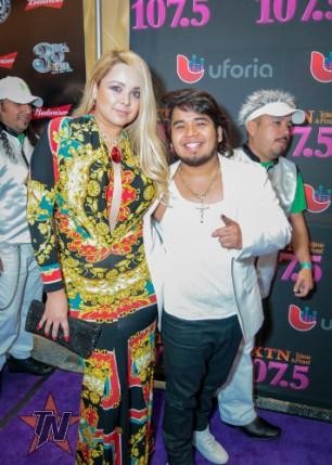 Erik at 2015 Tejano Music Awards Purple Carpet (Photo by Ryan Bazan / Tejano Nation)