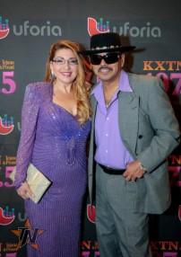 Ray Ray de Los Agues 2015 Tejano Music Awards Purple Carpet (Photo by Ryan Bazan / Tejano Nation)