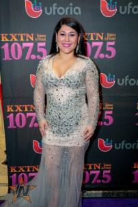 Sarah at 2015 Tejano Music Awards Purple Carpet (Photo by Ryan Bazan / Tejano Nation)