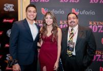 Univision Radio at 2015 Tejano Music Awards Purple Carpet (Photo by Ryan Bazan / Tejano Nation)