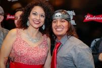 Anjelique Alvarez at 2015 Tejano Music Awards Purple Carpet (Photo by Ryan Bazan / Tejano Nation)