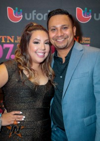Crytal Torres at 2015 Tejano Music Awards Purple Carpet (Photo by Ryan Bazan / Tejano Nation)