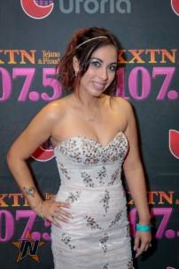 Beatriz at 2015 Tejano Music Awards Purple Carpet (Photo by Ryan Bazan / Tejano Nation)