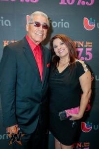 Ruben Ramos 2015 Tejano Music Awards Purple Carpet (Photo by Ryan Bazan / Tejano Nation)