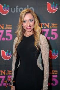 Megan Chapa at 2015 Tejano Music Awards Purple Carpet (Photo by Ryan Bazan / Tejano Nation)