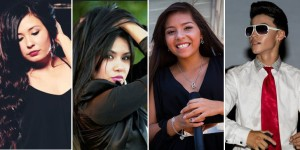 Left to right: Phoebe Marie, Veronica Flores, Jessica Mendoza and Ryan Vizcaino are scheduled to perform at Young Tejano & Conjunto Talent Night on November 14, 2015 in San Antonio.