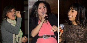 Jessica Mendoza, Veronica Flores & Gracelynnd Gomez are scheduled to perform at Young Tejano & Conjunto Talent Night on December 11, 2015. (Bobby Villela / Bobby V Photos)