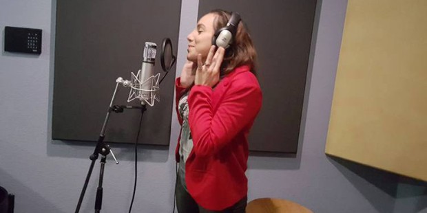 Savannah Votion is in the studio working on new music with her new record label, Michael Salgado's Zurdo Records. (Facebook photo)