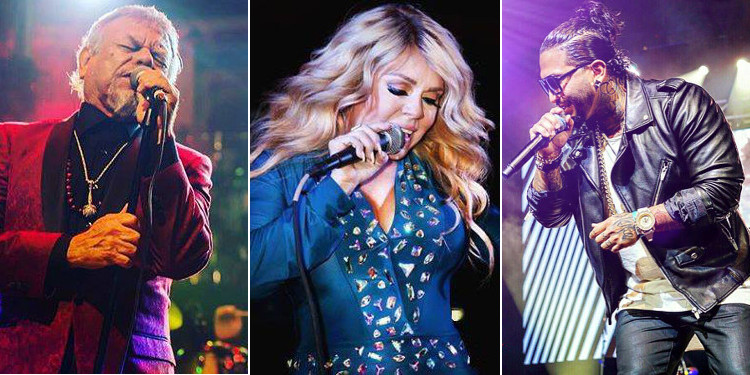 Little Joe, Stefani Montiel and Ricky Valenz are scheduled to perform at Tejano Explosion 2016. (Courtesy photos)