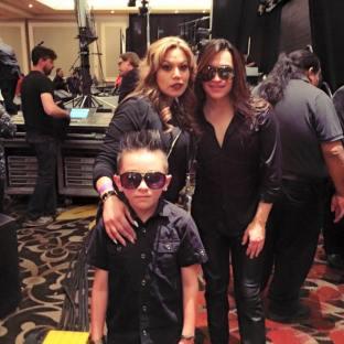 Tejano Nation's Fanny Gurl with Sergio Castillo