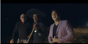 'El Gato Negro' Ruben Ramos, 'El Charro Negro' Bobby Butler and Alfredo Guerrero come together for 'Mi Gente'. (YouTube)