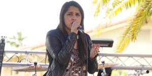 2015 Tejano Idol winner Monica Saldivar performs at 2016 Tejano Music Awards Fan Fair in San Antonio. (Facebook)