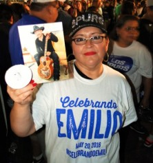 #CelebrandoEmilio at Market Square in San Antonio, Texas on May 20, 2016.