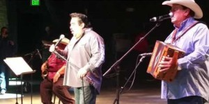 Ram Herrera and David Lee Garza perform at Father's Day Tejano Shootout in Tucson, Az on Friday, June 17, 2016. (YouTube)