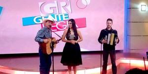 Javier Molina and Dwayne Veryheden with Gente Regia host Liz Briones. (Facebook / Javier Molina)