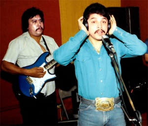 Emilio Navaira recording. (Courtesy photo)