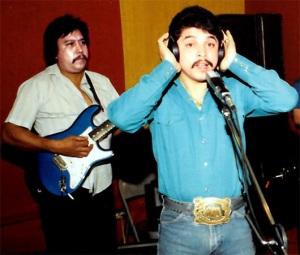 Emilio Navaira recording. (Courtesy photo)