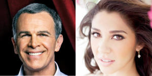 Actor Tony Plana and singer Erica Gonzaba will host the 2016 Tejano Music Awards (Facebook)