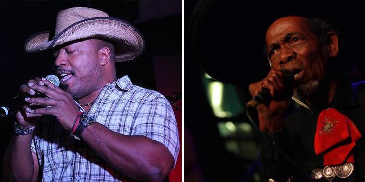 Marcus Daniels and 'El Charro Negro' Bobby Butler (Courtesy photos)