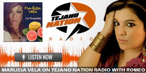 Marlissa Vela premieres 'La Guayaba' on Tejano Nation Radio[PODCAST]