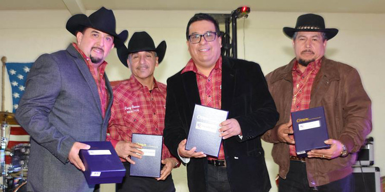 Lobo IV was inducted into the Tejano R.O.O.T.S Hall of Fame in Alice, Texas on January 7, 2017. (Photo by Vic Gonzalez)