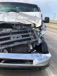 Fito Olivares suffers minor injuries in serious auto accident
