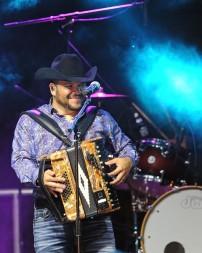 Michael Salgado performs in Temple, Texas on July 21, 2018. (Photo by Rick Castillo)