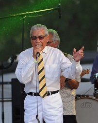 Ruben Ramos performs in Temple, Texas on July 21, 2018. (Photo by Rick Castillo)