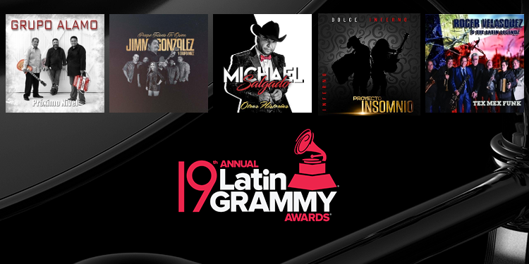 best tejano album nominees announced for 2018 latin grammy awards playlist tejano nation best tejano album nominees announced