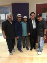 Eli Molina (recording engineer), Augustin Ramirez, Joe Revelez (studio musician), Freddie Martinez and Joe Bravo.