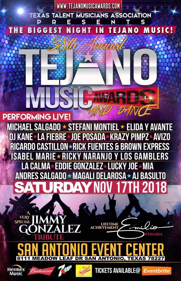 Tejano Music Awards2018