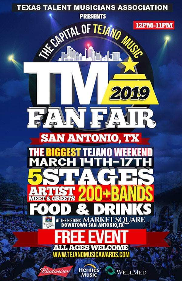 Over 200 Bands And Thousands Of Fans Expected For Tejano
