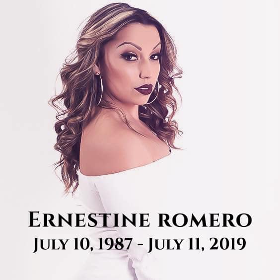 Candlelight vigil for Ernestine Romero set for Sunday at the