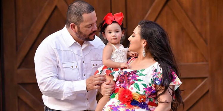 Michael Salgado and wife welcome second daughter [PHOTOS]