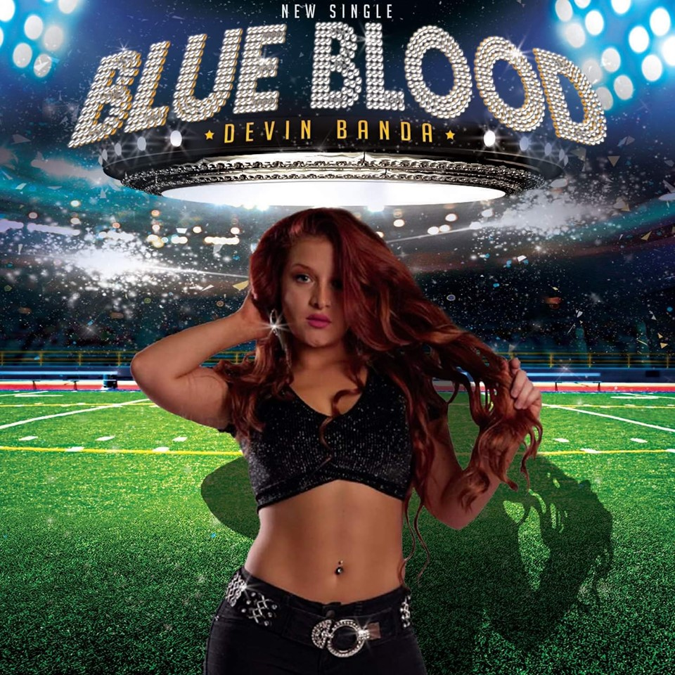 BLUE BLOOD SINGLE COVER
