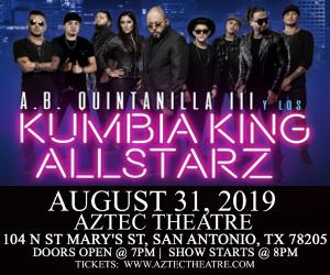 Kumbia King AllStarz at Aztec Theater