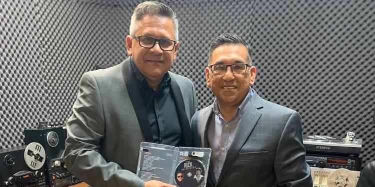 Rick Balderrama re-releases 'La Patria' album via custom USB device