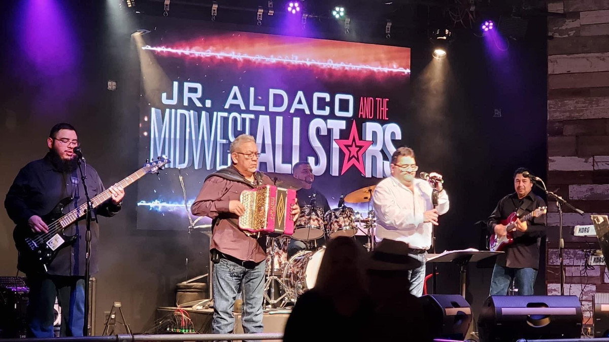 "Jr. Aldaco and the Midwest Allstars release ""Nomas Contigo"" from upcoming debut album"