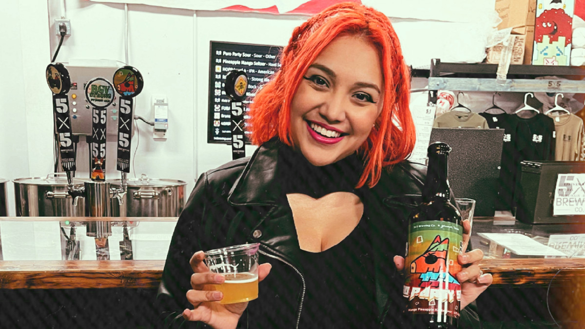 Veronique Medrano collaborates with brewing companies for Puro Party Sour brew