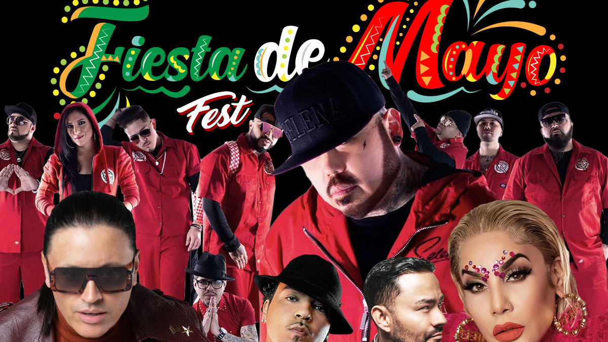 AB Quintanilla III Y Los Kumbia Kingz Allstarz with Pete Astudillo headline Fiesta de Mayo in Houston Memorial Day Weekend