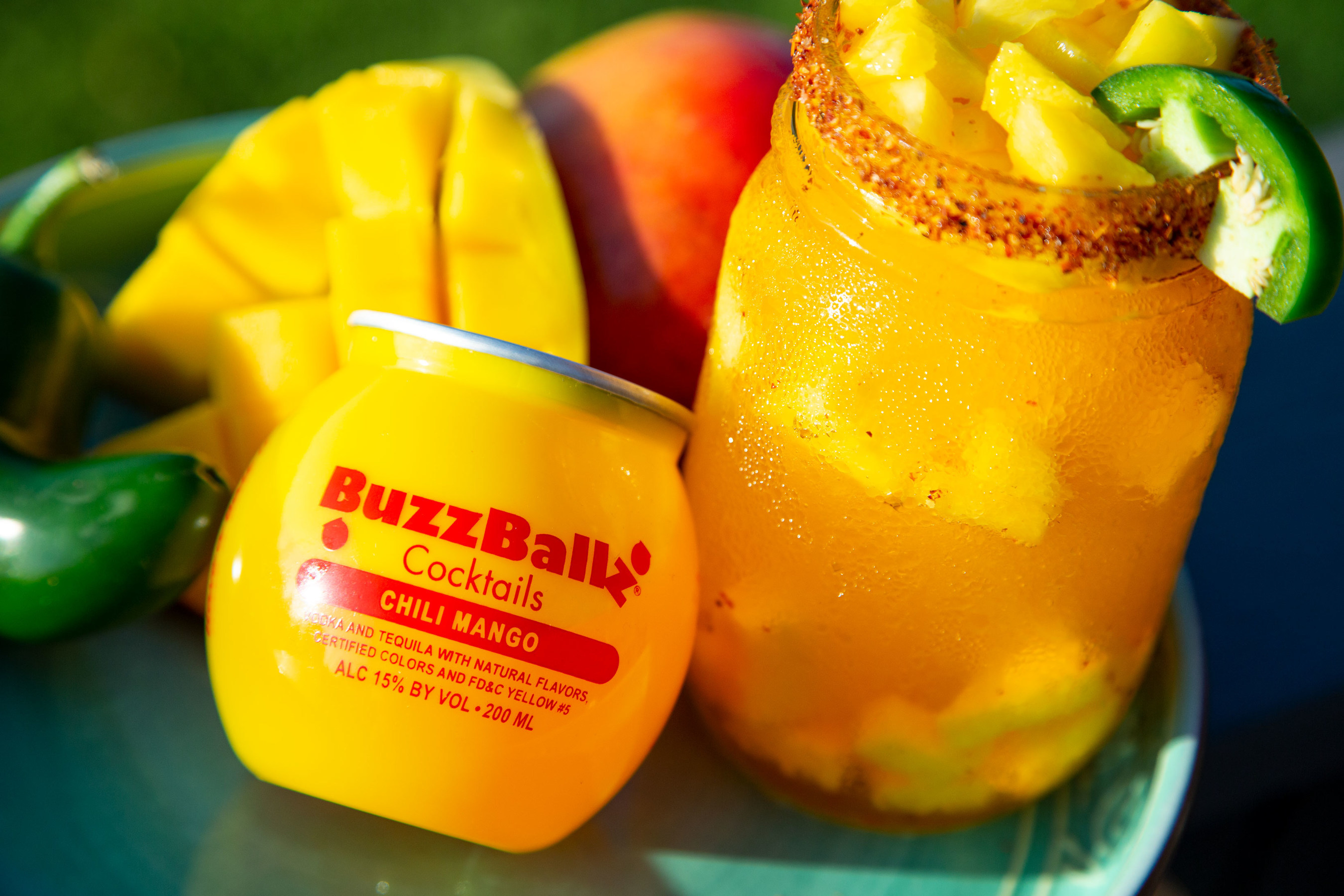 BuzzBallz Chili Mango is here, and the name says it all